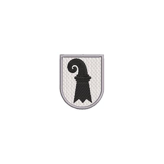 Aufnäher Wappen Basel Stadt midi