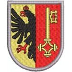 Aufnäher Wappen Genf midi