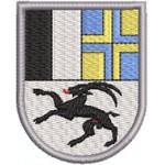Aufnäher Wappen Graubünden midi