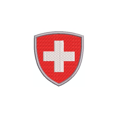 Aufnäher Wappen CH Wappen midi
