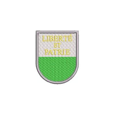 Aufnäher Wappen Waadt midi