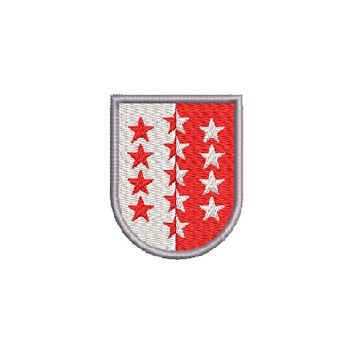 Aufnäher Wappen Wallis midi