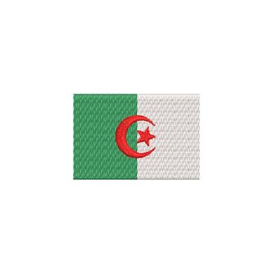 Aufnäher Flagge Algerien midi
