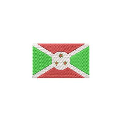 Aufnäher Flagge Burundi midi