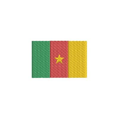 Aufnäher Flagge Cameroon midi