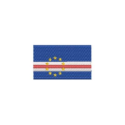 Aufnäher Flagge Cap Verde midi