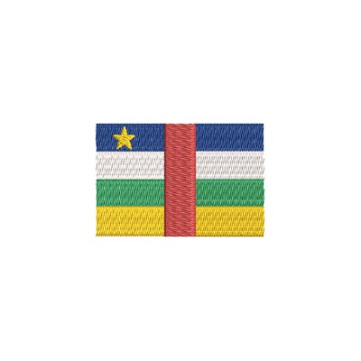 Aufnäher Flagge Central Republic midi