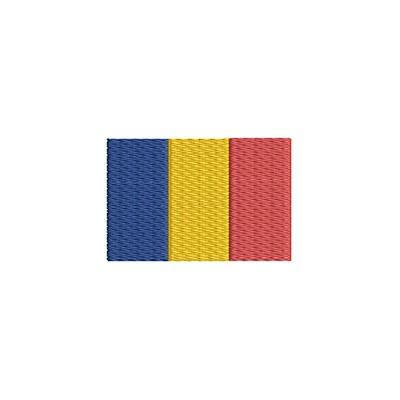 Aufnäher Flagge Chad midi
