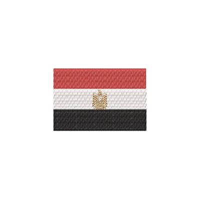 Aufnäher Flagge Egypt midi