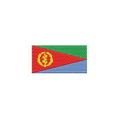 Aufnäher Flagge Eritrea midi