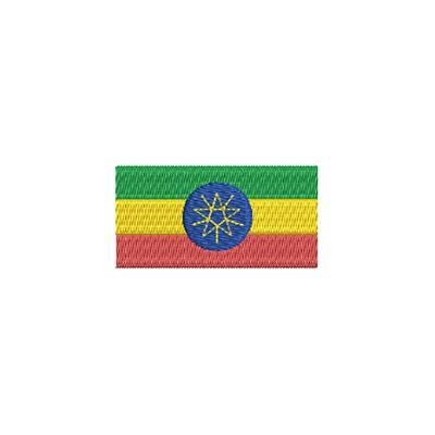 Aufnäher Flagge Ethiopia midi