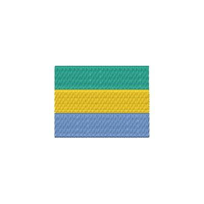 Aufnäher Flagge Gabon midi