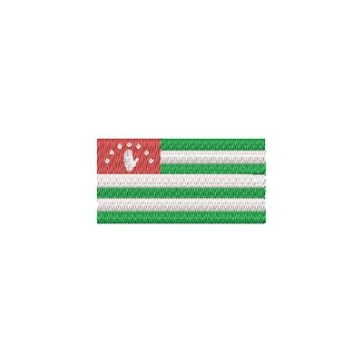 Aufnäher Flagge Abkhadia midi