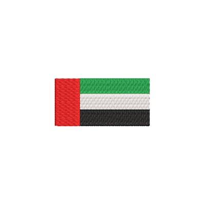 Aufnäher Flagge Arabische Emirate midi