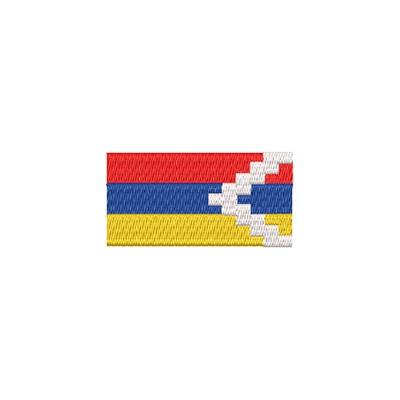 Aufnäher Flagge Artsakh midi