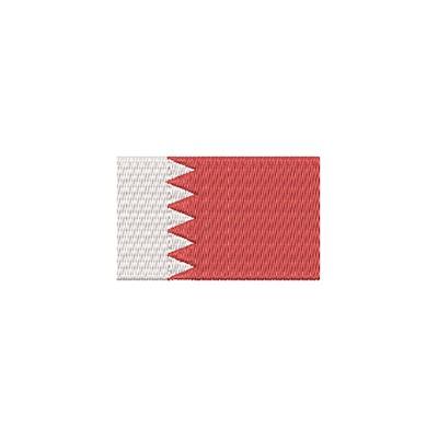 Aufnäher Flagge Bahrain midi