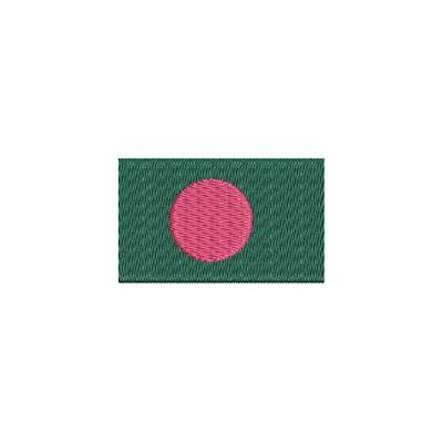 Aufnäher Flagge Bangladesch midi