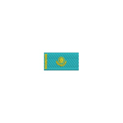 Flagge Kazakhstan