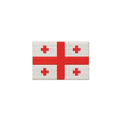 Aufnäher Flagge Georgien midi