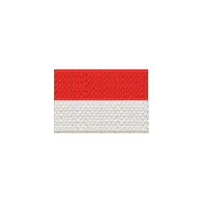 Aufnäher Flagge Indonesien midi