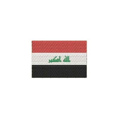 Aufnäher Flagge Irak midi