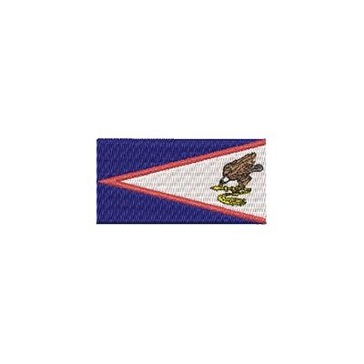 Aufnäher Flagge Am. Samoa midi