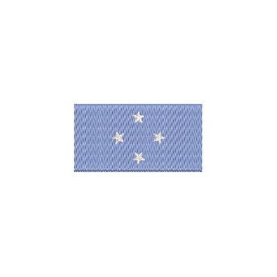 Aufnäher Flagge Fed. States Micronesien midi