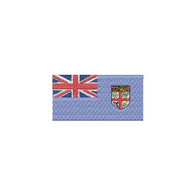 Aufnäher Flagge Fidschi midi