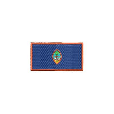 Aufnäher Flagge Guam midi