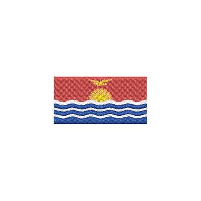 Aufnäher Flagge Kiribati midi