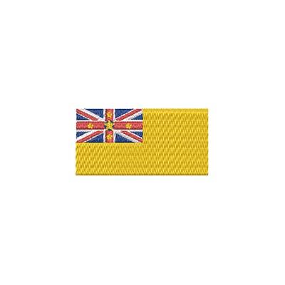 Aufnäher Flagge Niue midi