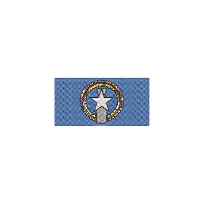 Aufnäher Flagge Nord Marianen midi