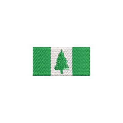 Aufnäher Flagge Norfalkinseln midi