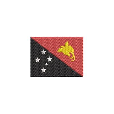 Aufnäher Flagge Papua Neuguinea midi