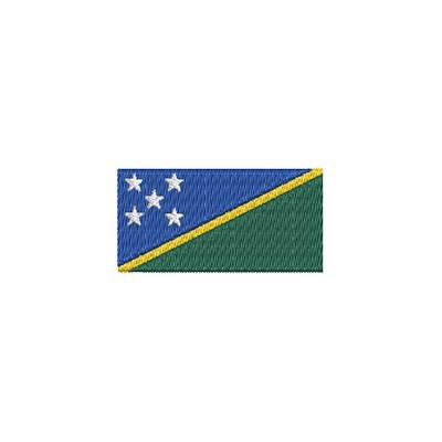 Aufnäher Flagge Salomonen midi
