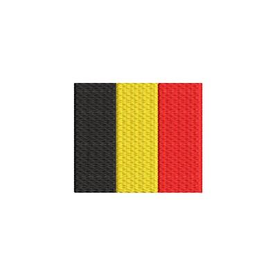Aufnäher Flagge Belgien midi