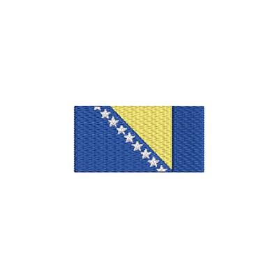 Aufnäher Flagge Bosnien midi