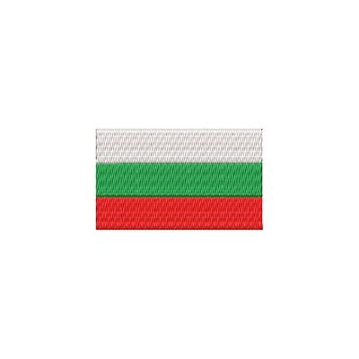 Aufnäher Flagge Bulgarien midi
