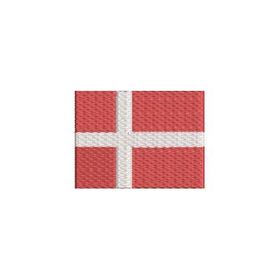 Aufnäher Flagge Danemark midi
