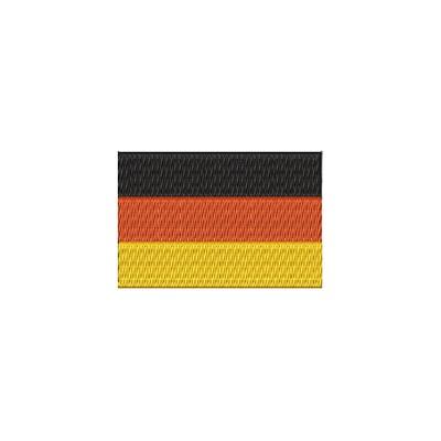 Aufnäher Flagge Deutschland midi