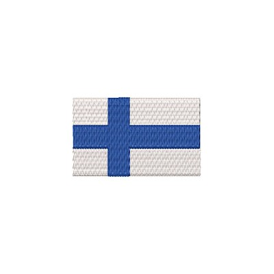 Aufnäher Flagge Finnland midi