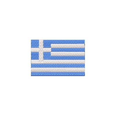 Aufnäher Flagge Griechenland midi