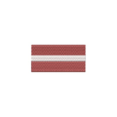 Aufnäher Flagge Lettland midi