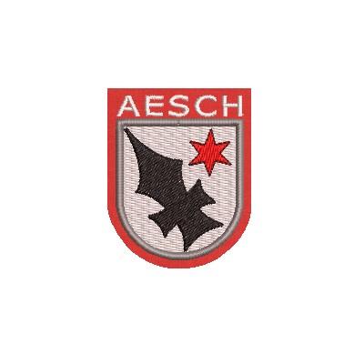 Aufnäher Wappen Gemeinde Aesch midi