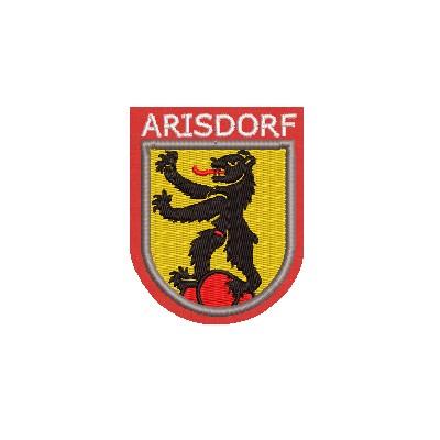 Aufnäher Wappen Arisdorf midi