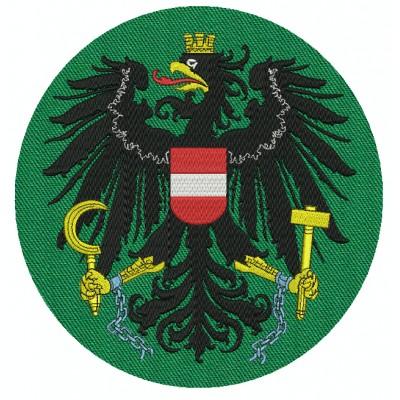 Aufnaher Wappen Austria