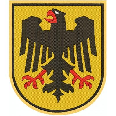 Aufnäher Adler Wappen Deutschland