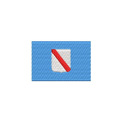 Flagge Region Campanien midi