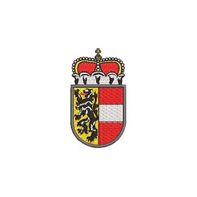Aufnäher Wappen Salzburg midi