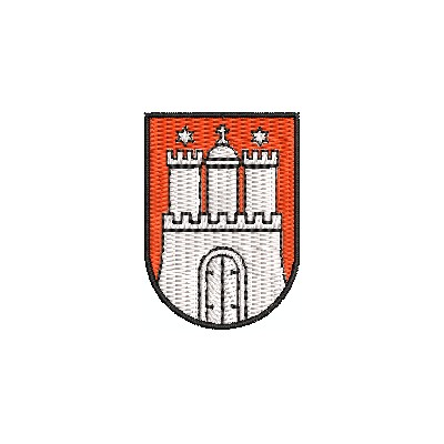 Wappen Hamburg mini